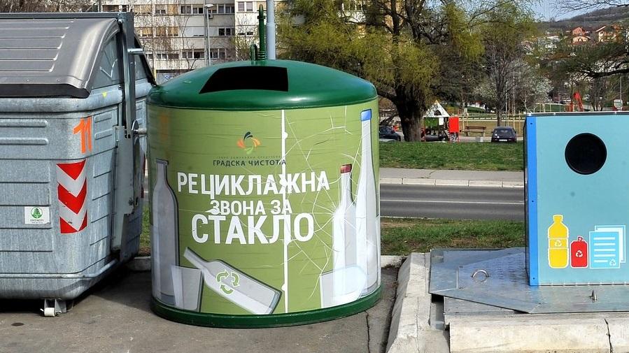 Постављени нови рециклажни контејнери